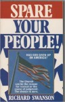 Book: Spare Your People – Dreams And Visions Of Judgement On USA